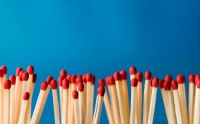 Red Tip Wooden Matches