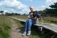 Bambi and me on the heath / Bambi en ik op de heide bij Haaksbergen