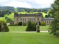 Chatsworth House in Derbyshire, England.  4205