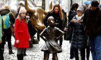 Girl Faces Down Wall Street Bull