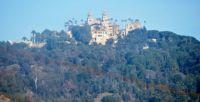 Hearst Castle Above San Simeon, California