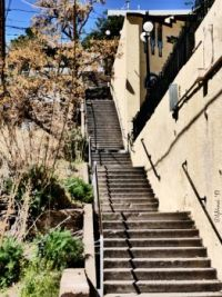 A stairway of 73 steps included in an October race since 1991
