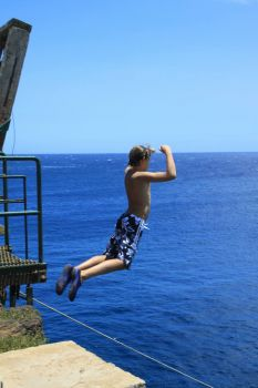 50' Jump at Southernmost USA