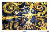 Doctor Who - Starry Night TARDIS