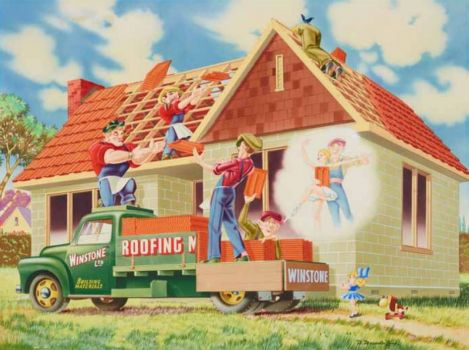 Themes Vintage ads - Winstone Roofing