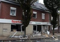 Thieves tried to blow up an ATM, but destroyed the bank instead!