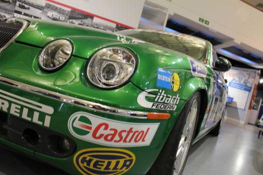 Jaguar at the Heritage Motor Museum