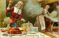 Themes Vintage illustrations/pictures - Thanksgiving Day