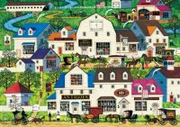 Shops and Buggies by Charles Wysocki