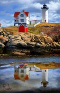 Nubble Light in Maine