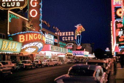 Las Vegas strip, 1950's