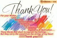 To all who stood by me... Thank you, my good friends!