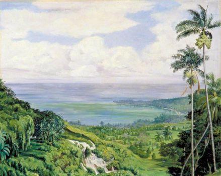 View over Ochos Rios, Jamaica  Marianne North (1830–1890)  Marianne North Galler
