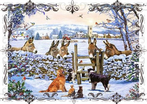 Solve Visiting With The Neighbors jigsaw puzzle online ...