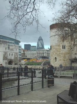 Tower of London and gherkin