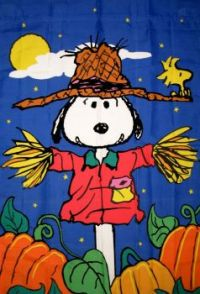 Snoopy the Scarecrow