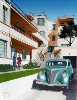 1936 Lincoln Zephyr Model 730se