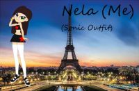 Nela (Me) (Sonic Outfit) in My Little Pony Equestria Girls