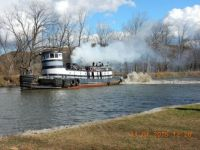 Tug Margot in Macedon NY on Erie Canal