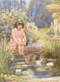 Fairies at the pond