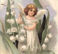 An Angel in the Lily of the Valley