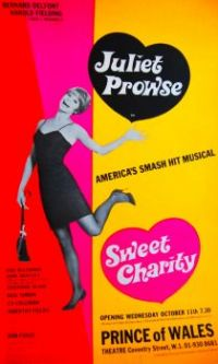 SWEET CHARITY - JULIET PROWSE ORIGINAL LONDON PRODUCTION, 1968