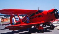 Red Beechcraft Staggerwing