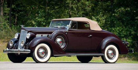 1937 - Packard 120 Convertible coupe