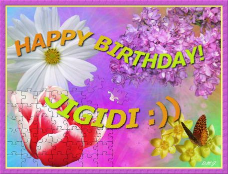 Happy Birthday Jigidi !!! :)) III