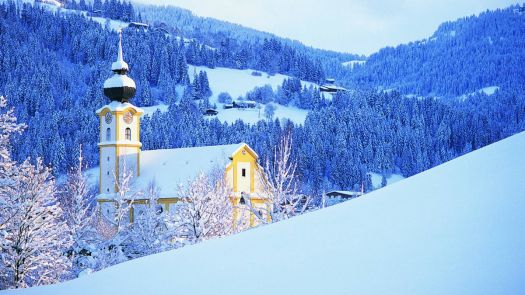 An Austrian Winter - Church in Tyrol