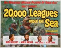 20,000 LEAGUES UNDER THE SEA - 1954 KIRK DOUGLAS, JAMES MASON