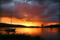Sunset on The Mighty Clarence River