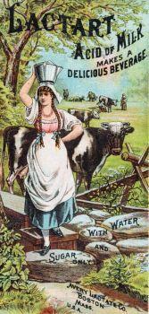 Lactart Acid of Milk {Vintage Ads}