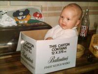 My son Martin as a baby