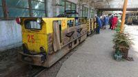 Elektrický důlní vlak-Baňa Cígel-Prievidza