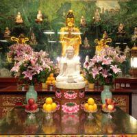 An altar in Hong Kong