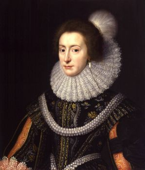 ca. 1623 Elizabeth, Queen of Bohemia by Michiel Jansz. van Miereveldt