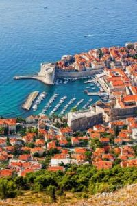 Dubrovnik and the Adiatic Sea, Croatia