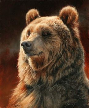 4  ~  'Standing Grizzly'