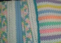 Two baby blankets for Bundles of Love: Large