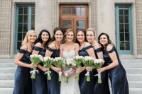 Grace and her Bridesmaids