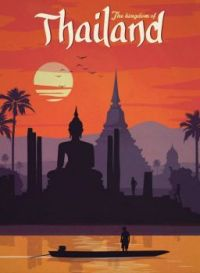 Vintage Travel Posters - Thailand