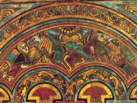 The Book of Kells - an 8th Century Illuminated Manuscript at Trinity College