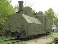 Armored Russian Locomotive