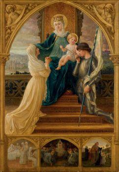 Virgin à l'Enfant entre Sainte Geneviève et Jeanne D'Arc