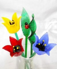glass tulips for Kevin