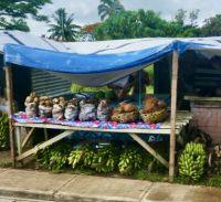 roadside market 2, Tonga