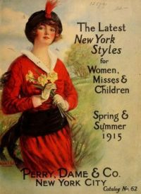 Themes Vintage ads - 1915 fashion catalog cover