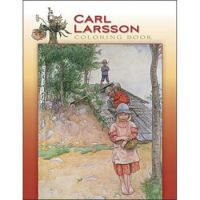 Carl Larsson, Swedish Artist Coloring Book  1917 'By the Cellar""