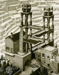 MC Escher- Waterfall